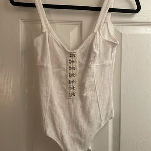 Forever 21 corset bodysuit